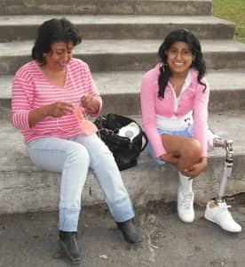Gabriela and her mom