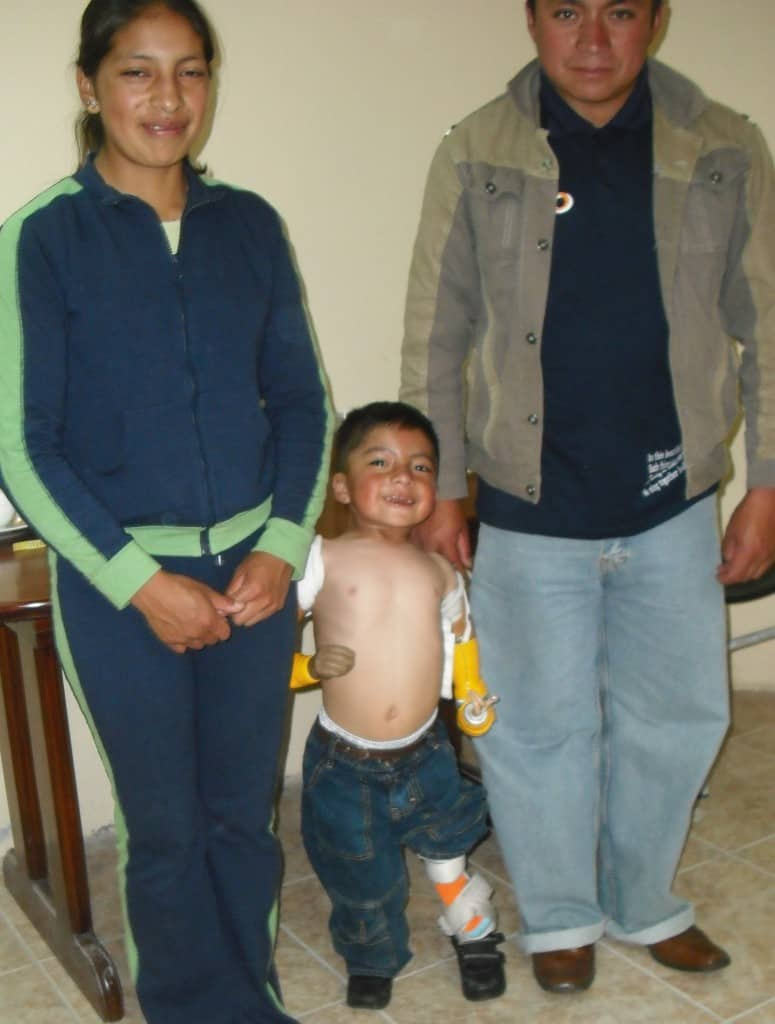 Jostin and his family