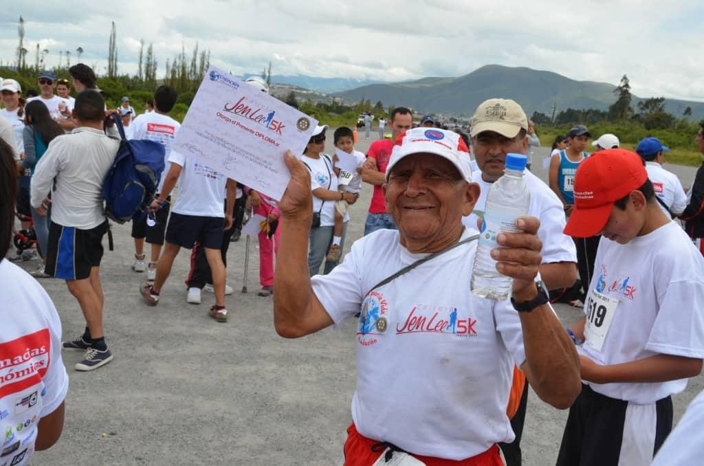 Participantes felices